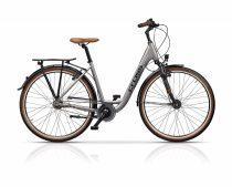 Cross Citerra Női kerékpár Low Step | Agyváltós N7 | 50cm | Ezüst