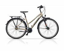 Cross Citerra Női kerékpár | Agyváltós N7 | 44cm | Bézs