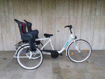 """Csepel Budapest B 28"""" háromkerekű - 1 sebességes - kontrás kerékpár - Több színben - Ikerszállító"""