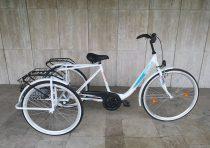 """Csepel Budapest B 28"""" háromkerekű - 3 sebességes - agyváltós kontrás kerékpár - Több színben"""