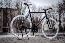 Egyedi Csepel Torpedo kerékpár fekete