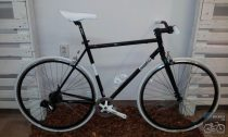 Csepel Torpedo vázra épített egyedi városi kerékpár - 7sp