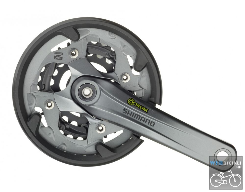 c4583029c0e8 MTB Hajtómű - Shimano Alivio FC-M4000 - Kerékpár Webshop ...