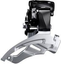 Shimano ALTUS FD-M2000 Első váltó Down Swing alul-felül húzós 3x9 fokozatú felső bilincses DS6
