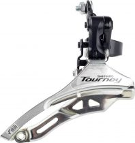 Shimano-TOURNEY-FD-TY300-DS6-Elso-valto-felso-bilincses alul huzos 28mm down swing