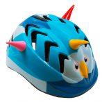 Kerékpáros sisak - XS - (44-48 CM) - kék - madaras
