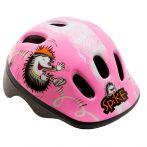 Kerékpáros sisak - S - 48-52 cm - pink - sünis