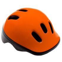 Kerékpáros sisak - S - 48-52 cm - narancssárga