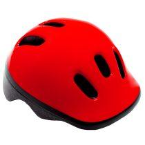 Kerékpáros sisak - S - 48-52 cm - piros