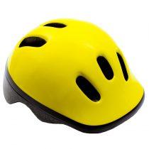 Kerékpáros sisak - S - 48-52 cm - citromsárga