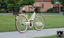 Egyedi festésű Mademoiselle trekking túra/városi kerékpár - Nőknek - 7sp - Krém