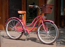 Egyedi Cruiser Női Agyváltós Kerékpár 1sp / 3 sp - Eper