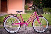 Egyedi Cruiser Női Kerékpár  1sp / 3 sp - Pink