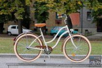 Egyedi Cruiser Női Kerékpár  1sp / 3 sp - Krem - Barna