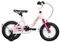"""Koliken Kid Bike 12"""" lány kerékpár - Pink"""