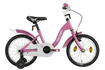 """Koliken Bunny 16"""" kislány bicikli - Pink színben"""
