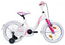 """Koliken Kid Bike 16"""" lány kerékpár - Fehér"""