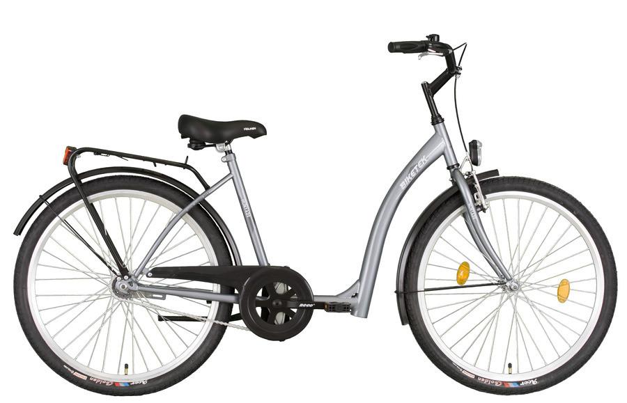 e547e07b2048 Időseknek - Koliken Hunyadi kontrás kerékpár (alacsony átlépésű) Ezüst -  Figyelem - SZUPER ÁR!!!