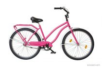Koliken-Holiday-Cruiser-noi-kerekpar-Pink-szinben