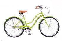 Neuzer California Cruiser kerékpár női-Neonzold