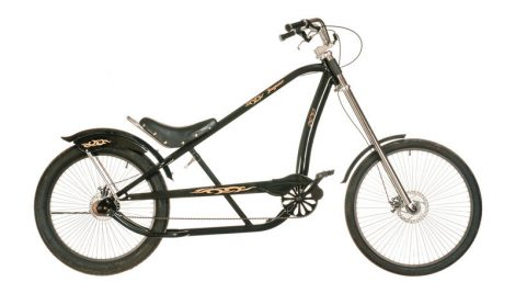 Jaguar Chopper Kerekpar - fekete-bronz