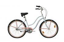 Neuzer Miami női cruiser kerékpár - babyblue/rózsaszín