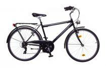 """Neuzer Ravenna 30 férfi Trekking Kerékpár - fekete/szürke fehér - 19"""""""