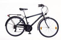 """Neuzer Venezia 30 - városi férfi kerékpár - fekete/szürke- fehér - 17"""""""