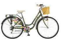 """Polar Grazzia városi kerékpár 28"""" - női - 6 sebességes - fekete"""