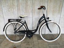 """Toldi női városi kerékpár - 6 sebességes láncváltós - 26"""" - Fekete színben"""
