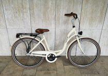 """Toldi női városi kerékpár - 1 sebességes kontrás - 28"""" - Krém színben"""