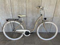 """Toldi Premium női városi kerékpár - 3 sebességes kontrás agyváltós - 26"""" -Kávé színben"""