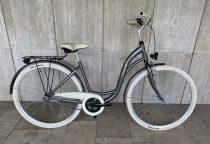 """Toldi Premium női városi kerékpár - 1 sebességes kontrás - 26"""" - Titán színben"""
