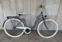 """Toldi Premium női városi kerékpár - 3 sebességes kontrás agyváltós - 26"""" - Titán színben"""