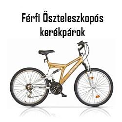 Férfi Összteleszkópos kerékpár
