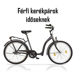 Férfi kerékpár időseknek