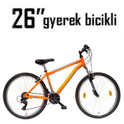 Gyerek bicikli - 26 Coll (11-13 éves) (145-155cm)