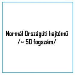 Normál Országúti hajtómű /~ 50 fogszám/