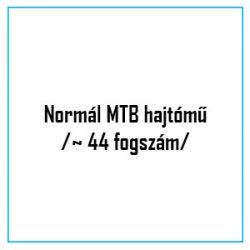 Normál MTB hajtómű /~ 44 fogszám/