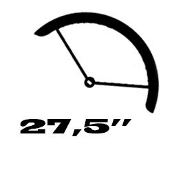 "27,5"" (ETRTO: 584mm gumimérethez)"