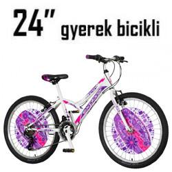 Gyerek biciklik - 24 Coll (9-11 éves) (135-145cm)