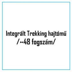 Integrált Trekking hajtómű /~48 fogszám/