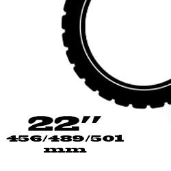 22 coll - 456 / 489 / 501 mm