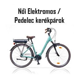 Női Elektromos / Pedelec kerékpár