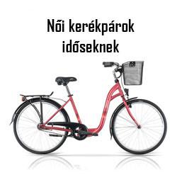 Női kerékpár időseknek