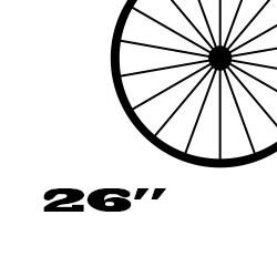 Minőségi kerékpár felni, 26 colos