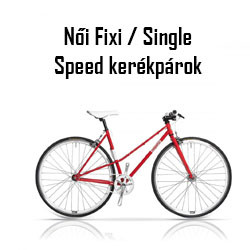 Női Fixi / Single Speed kerékpár
