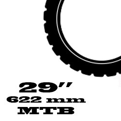 29 coll MTB - 622 mm