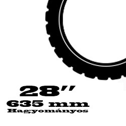 28 coll Hagyományos - 635 mm
