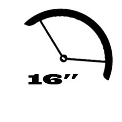 "16"" (ETRTO: 305mm gumimérethez)"